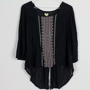 True Craft Blouse Handcrafted Embroidered Neckline